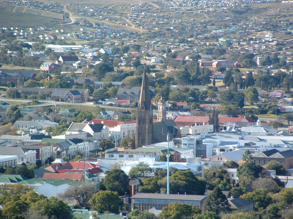 Grahamstown is part of the Makana Municipality.