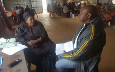Richard Bricks Mokolo, head paralegal initiated the campaign #Gravefeesmustfall 'asinamali'.