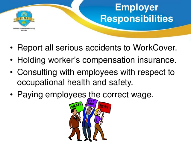 Occupational health and safety act : The responsibilities of the employee & the employer