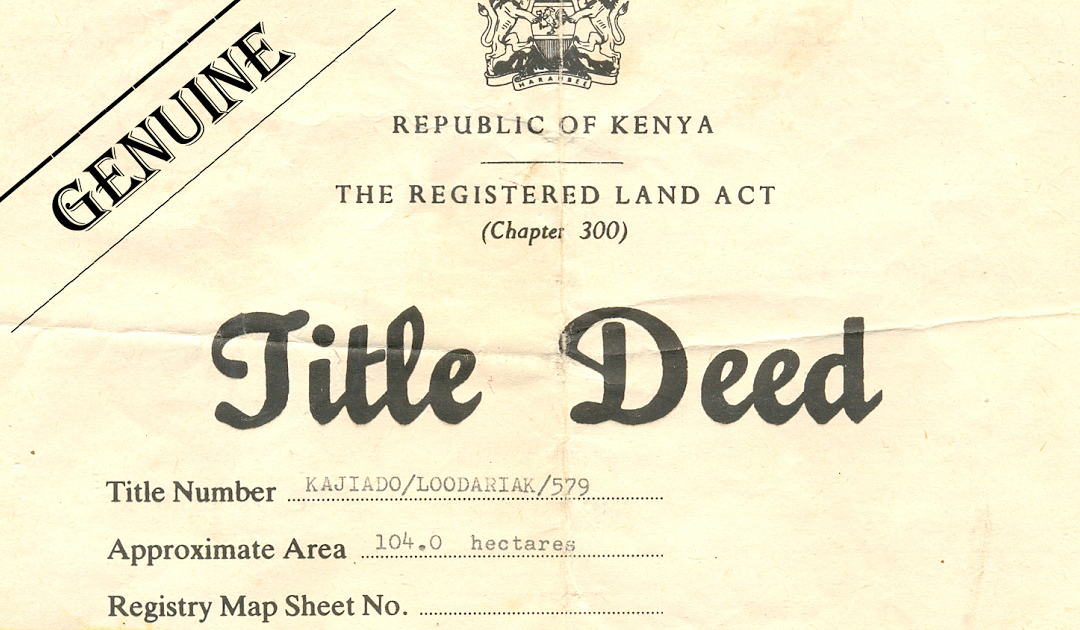 Title deeds Demystified
