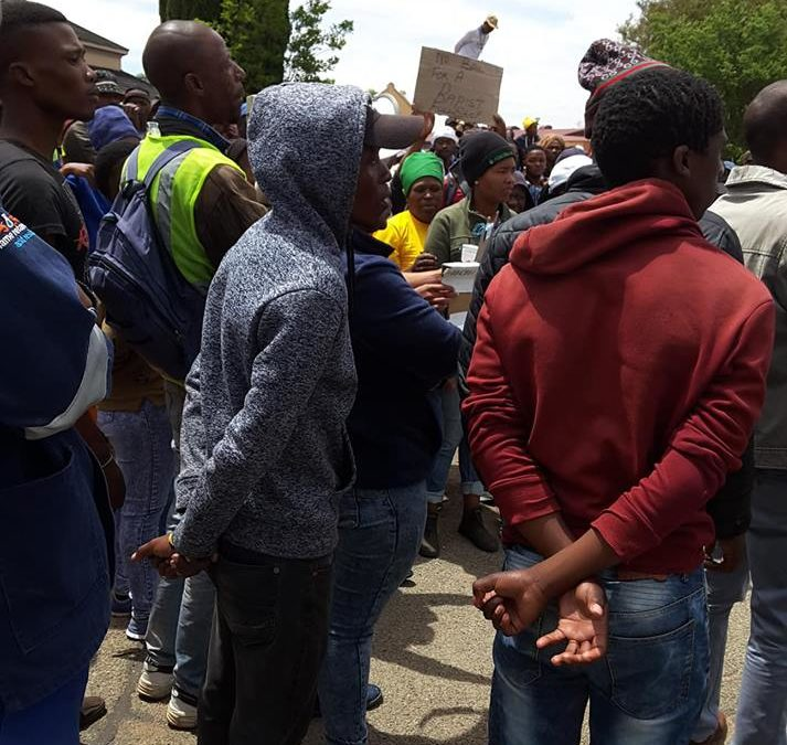 Ventersdorp residents dissatisfied with court judgment